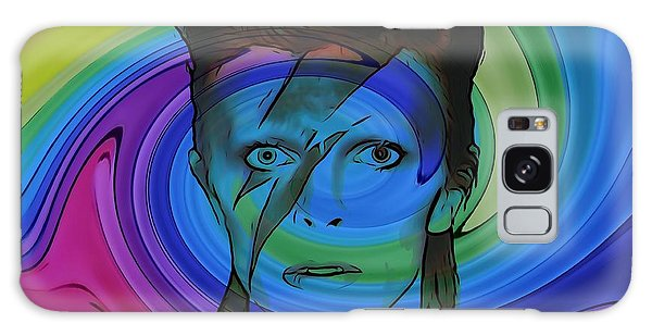 Glam Rock Galaxy Case - David Bowie Color Swirl by Dan Sproul