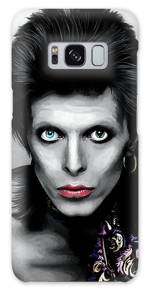 Glam Rock Galaxy Case - David Bowie The Chameleon by Gabriel T Toro