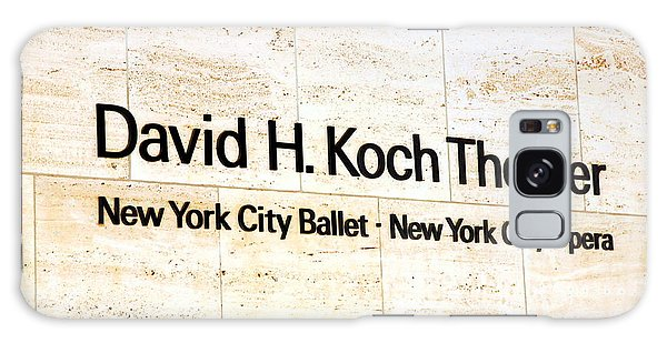 David H. Koch Theater Galaxy Case