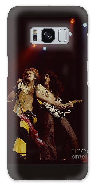 David Lee Roth And Eddie Van Halen - Van Halen- Oakland Coliseum 12-2-78   Galaxy Case