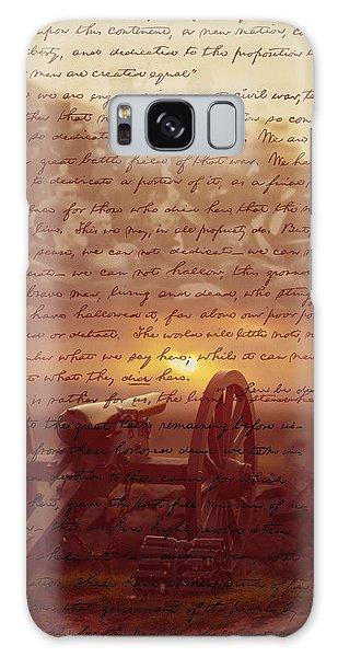 Dawn At Gettysburg Galaxy Case
