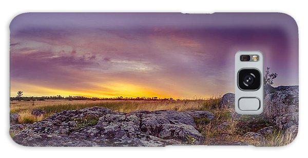 Dawn At Steppe Galaxy Case