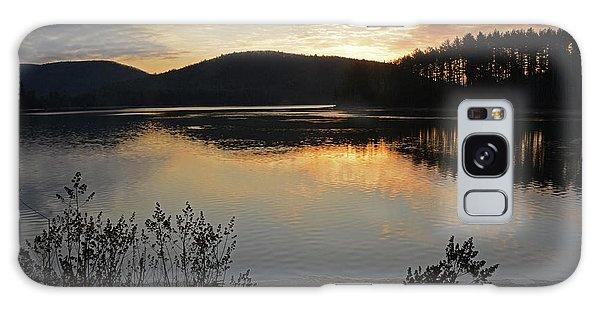 Dawn At The Lake Galaxy Case