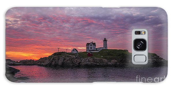 Dawn At The Nubble Galaxy Case by Steven Ralser