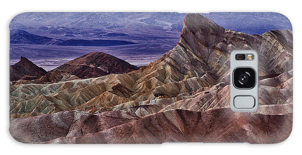 Dawn At Zabriskie Point Galaxy Case by Jerry Fornarotto