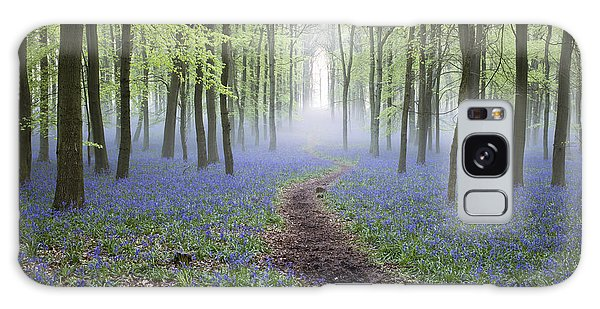 Bluebell Galaxy Case - Dawn Bluebell Wood by Tim Gainey
