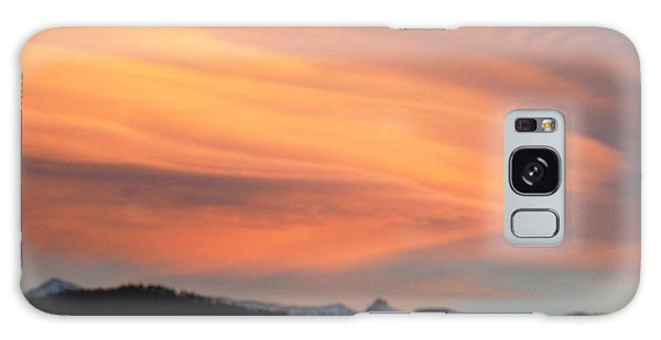 Dawn Glory Cloud Over El Valle Galaxy Case by Anastasia Savage Ealy