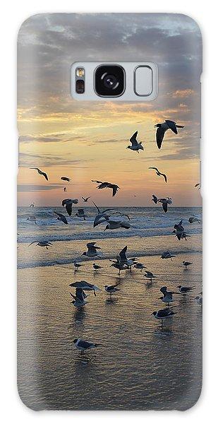 Dawn Gulls Galaxy Case