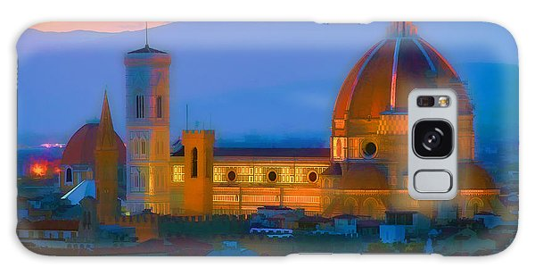 Dawn In Florence Galaxy Case