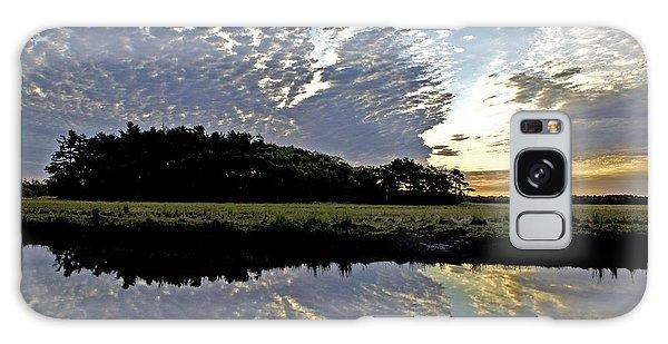 Dawn In Maine Galaxy Case