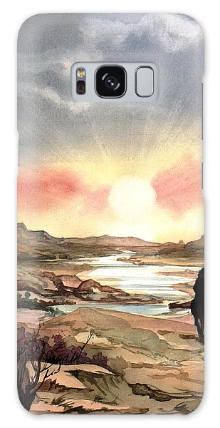 Dawn In The Valley Galaxy Case