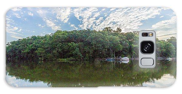 Dawn On The Magothy River Galaxy Case