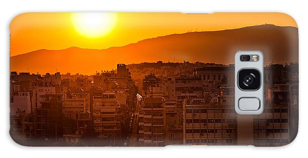 Galaxy Case featuring the photograph Dawn Over Athens by Brad Brizek
