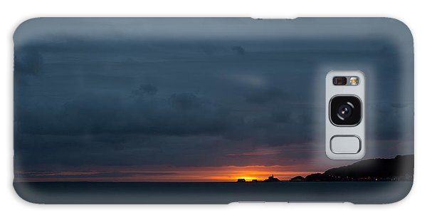 Dawn Over Swansea Bay Galaxy Case