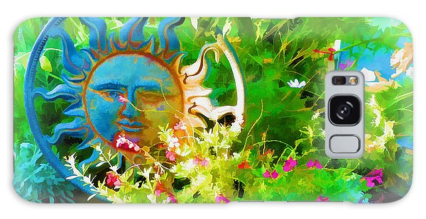 Dawn Sun Across The Garden Galaxy Case