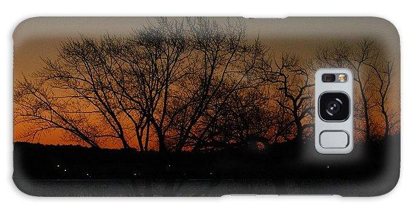Dawns Early Light Galaxy Case by Joe Faherty