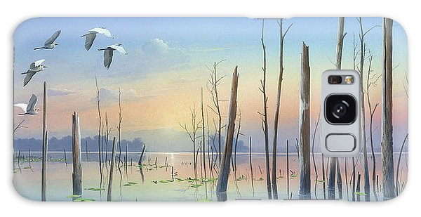 Dawns Early Light Galaxy Case