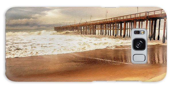Day At The Pier Large Canvas Art, Canvas Print, Large Art, Large Wall Decor, Home Decor, Photograph Galaxy Case by David Millenheft