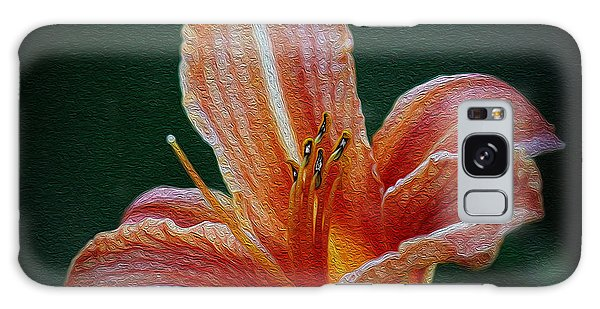 Day Lily Rapture Galaxy Case