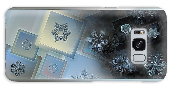 Snowflake Collage - Daybreak Galaxy Case