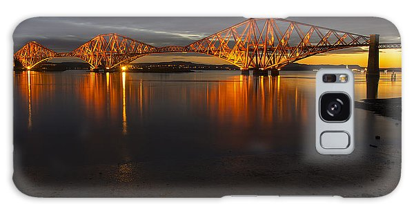 Daybreak At The Forth Bridge Galaxy Case