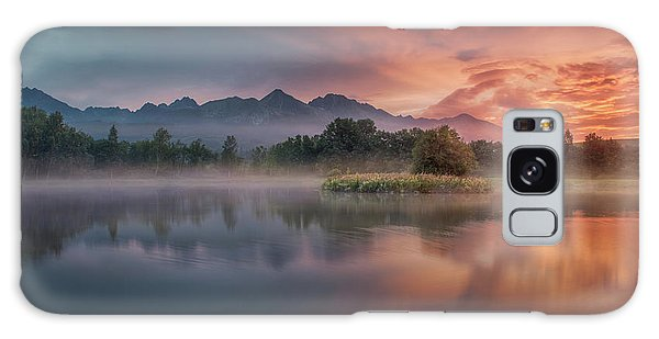 River Galaxy Case - Daybreak By The Lake by Peter Svoboda, Mqep