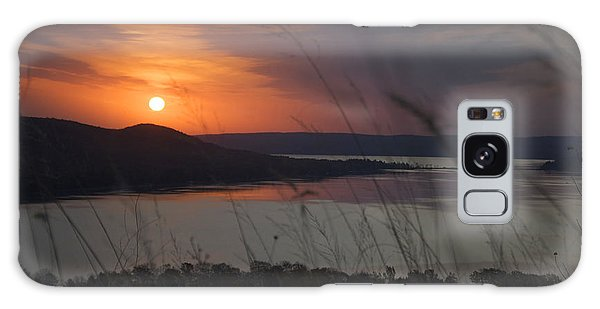 Daybreak On Glen Lake Galaxy Case