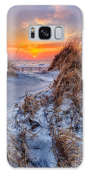 Daybreak On The Outer Banks 3 Galaxy Case