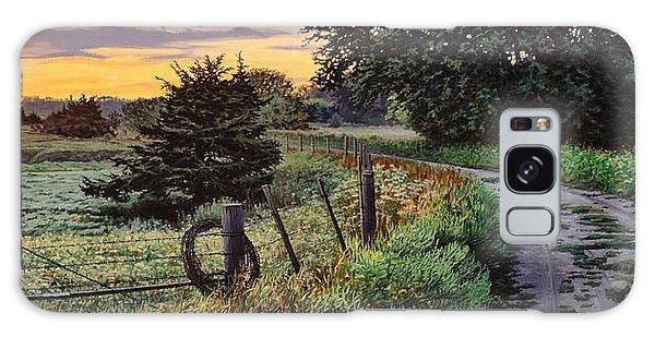 Daybreak Southwest Corner Fenceline Galaxy Case