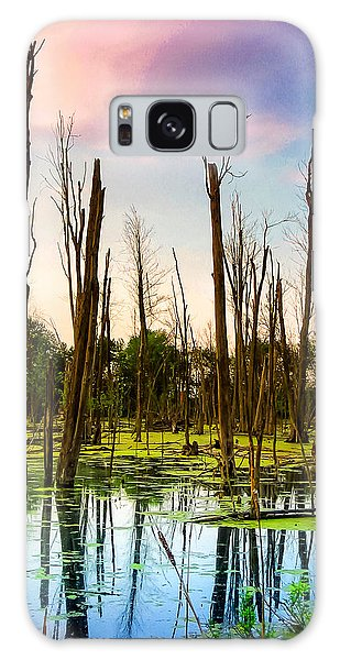 Daylight In The Swamp Galaxy Case