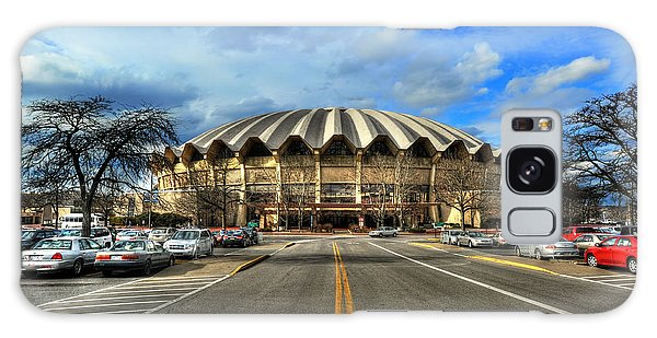 Daylight Of Wvu Basketball Coliseum Arena Galaxy Case