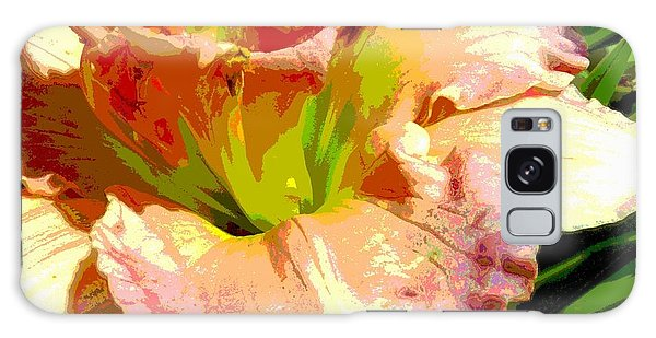Daylily 1 Galaxy Case by Sally Simon