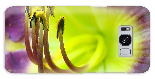 Daylily Macro 2 Galaxy Case