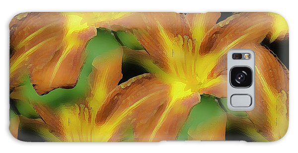 Daylily Magic Galaxy Case