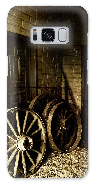 Days Gone By Galaxy Case by Richard Stephen