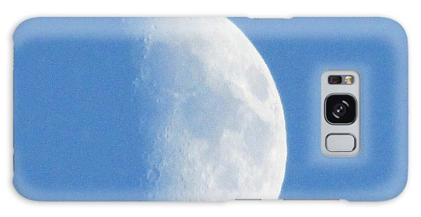 Daytime Moon 2 Galaxy Case by Kathy Long