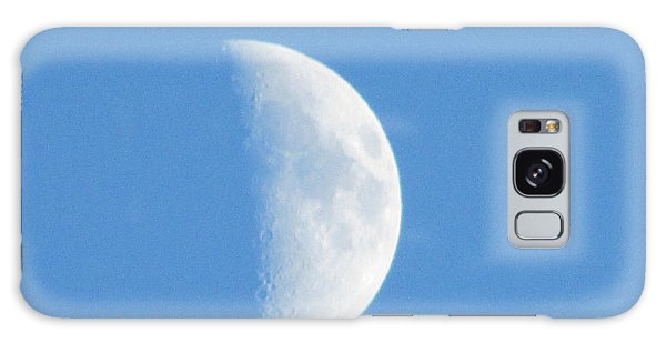 Daytime Moon 3 Galaxy Case by Kathy Long