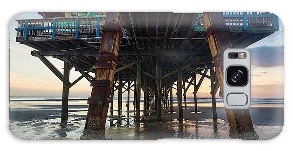 Daytona Beach Shores Pier Galaxy Case