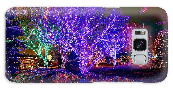 Dazzling Christmas Lights Galaxy Case by Martin Konopacki