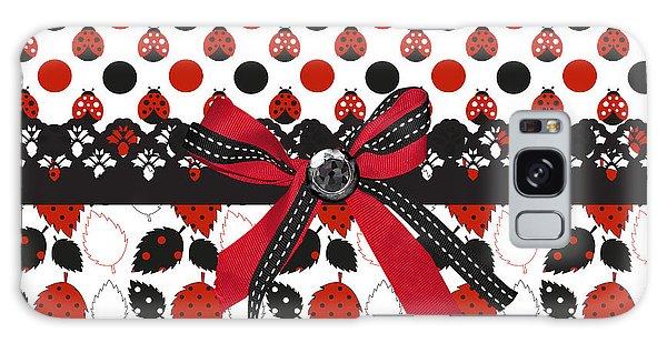 Dazzling Ladybugs  Galaxy Case