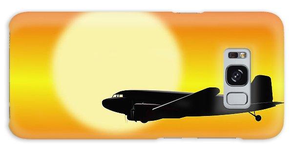 Dc-3 Passing Sun Galaxy Case