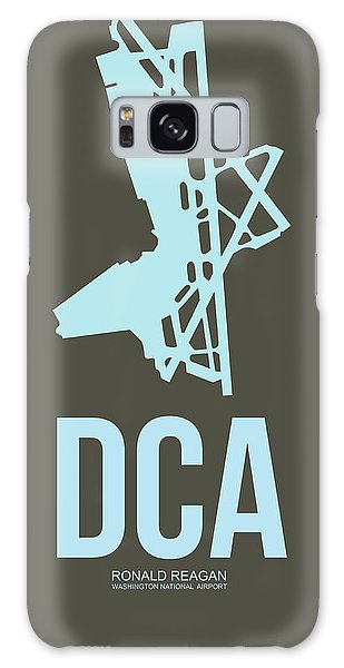 Washington D.c Galaxy Case - Dca Washington Airport Poster 1 by Naxart Studio