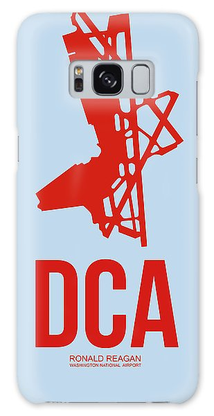 Washington D.c Galaxy Case - Dca Washington Airport Poster 2 by Naxart Studio