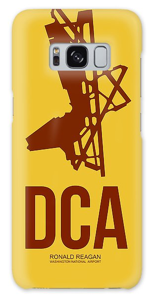 Washington D.c Galaxy Case - Dca Washington Airport Poster 3 by Naxart Studio