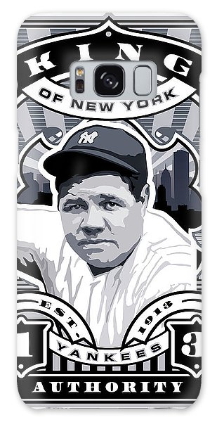 Dcla Babe Ruth Kings Of New York Stamp Artwork Galaxy Case