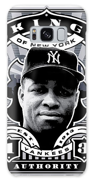 Dcla Elston Howard Kings Of New York Stamp Artwork Galaxy Case