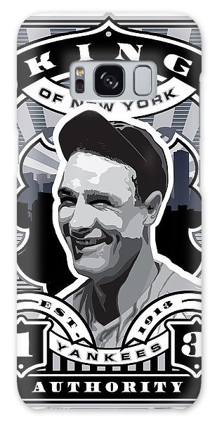 Dcla Lou Gehrig Kings Of New York Stamp Artwork Galaxy Case