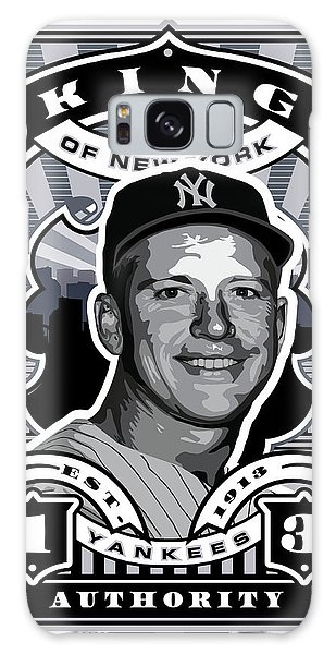 Dcla Mickey Mantle Kings Of New York Stamp Artwork Galaxy Case