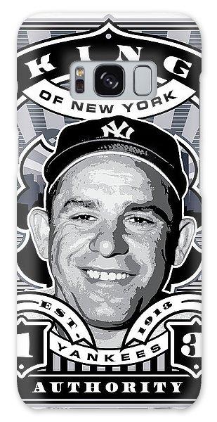 Dcla Yogi Berra Kings Of New York Stamp Artwork Galaxy Case