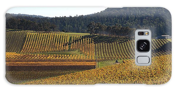 golden vines-Victoria-Australia Galaxy Case by Joy Watson